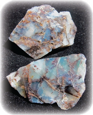 Mt. Shasta Blue Opal
